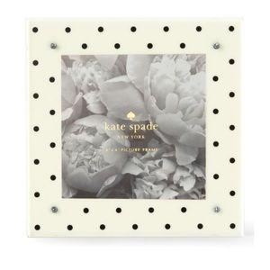 [kate spade] Black Dot Picture Frame